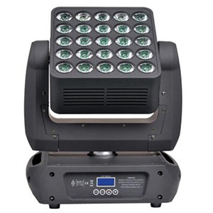 25x10W RGBW 4in1 LED Matrix Moving Head Beam