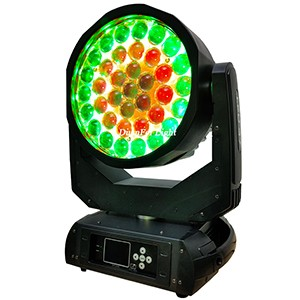 37pcs 15W Ring Control LED Wash Moving Head Zoom