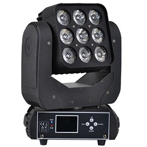 3x3 led matrix moving head beam