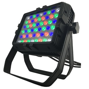 54pcs 3Watt rgbw mini led city color wash light