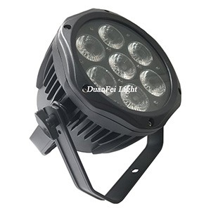 7x18W 6in1 RGBWA UV LED Par Can
